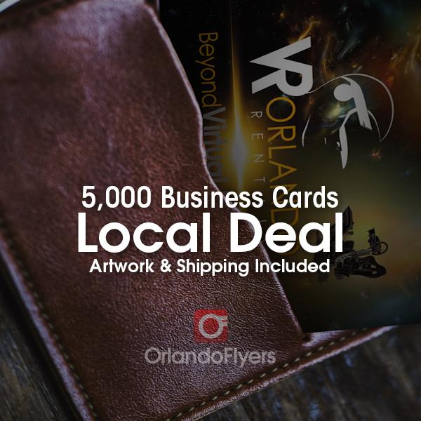 Local deal 5000 business card bundle orlandoflyers home business cards colourmoves